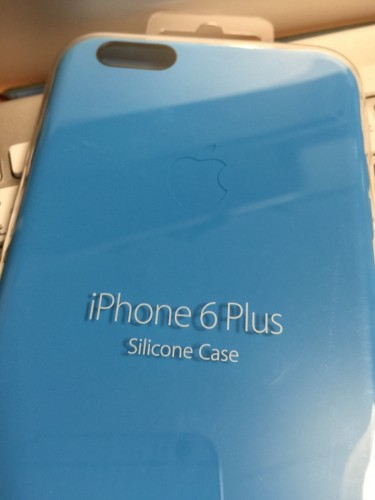 iPhone 6 Plusシリコンケース